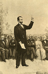 Lincoln's address at Gettysburg